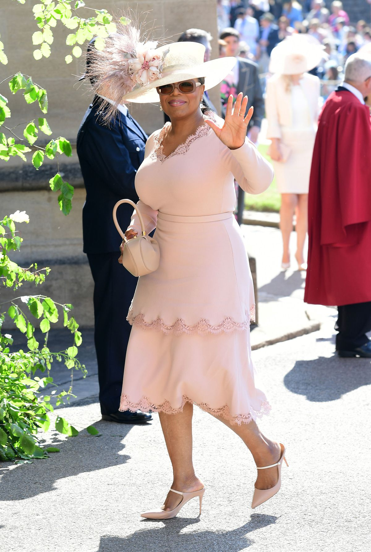 royal wedding: what oprah and other celebrities wore - racked