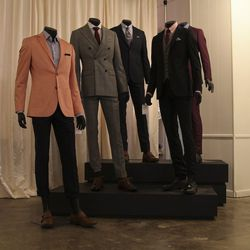 """Beware of confusing a blazer for a suit jacket.  """"Blazers tend to be worn more like an outerwear piece, more like a coat, so it's really not used to build a full look,"""" he says. They have a different fit with a different set of pockets and buttons."""