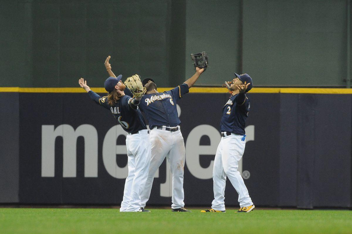 Christian Yelich Milwaukee Brewers New Arrivals Baseball Player Fade Jersey