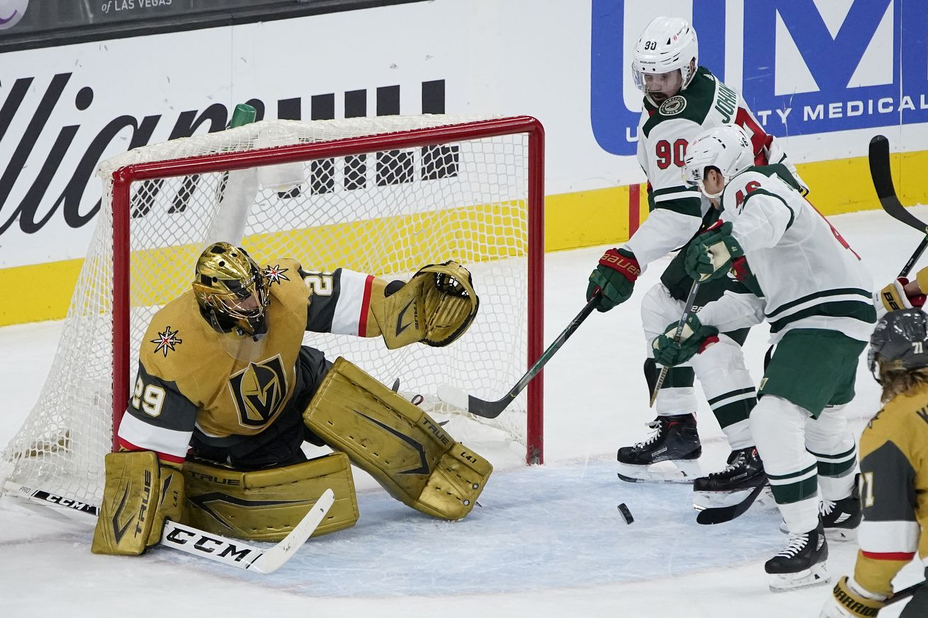 NHL: Minnesota Wild at Vegas