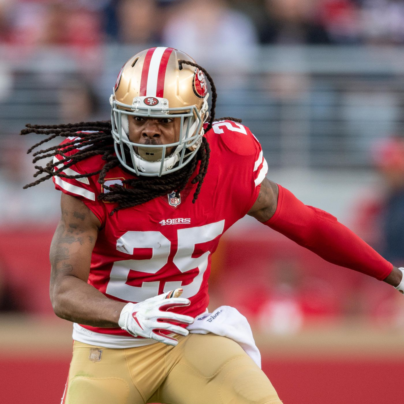 buy popular aac9e b4a49 How Richard Sherman's contract could hurt the 49ers salary ...