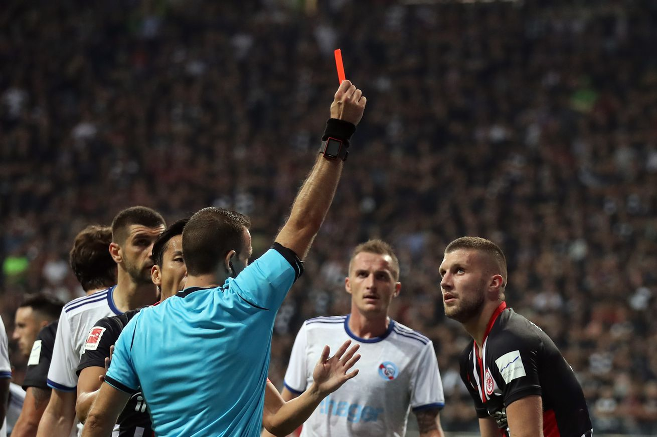 BREAKING: UEFA Hands Ante Rebic A 5 Match Suspension For a Red Card in the Europa League