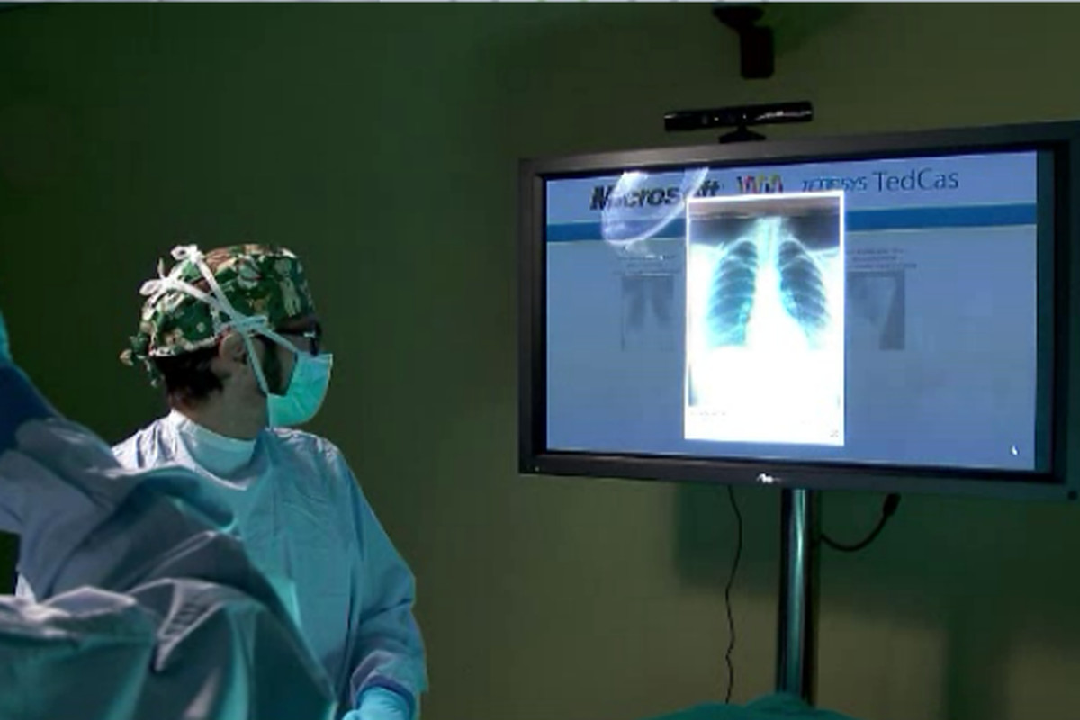 Kinect in Operating Room