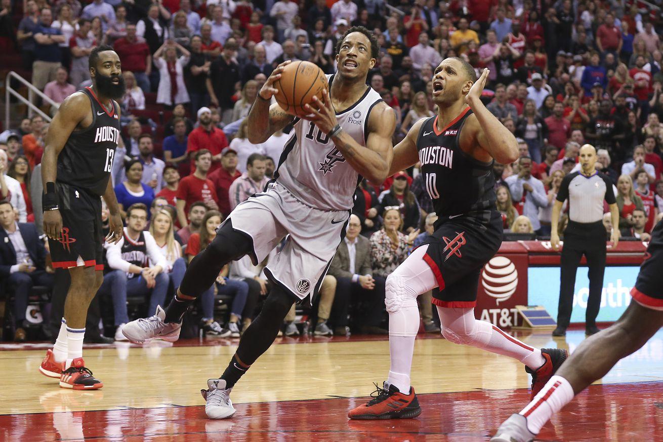 The Spurs offense, or DeMar DeRozan hero ball?