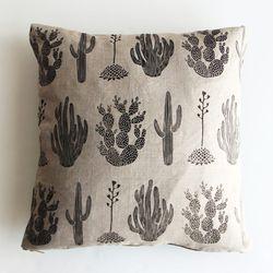 Amelie Mancini Cactus Pillow, $75
