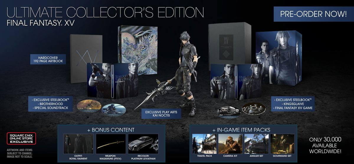 ff15 collector's edition