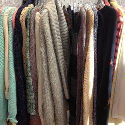Sweaters, $50