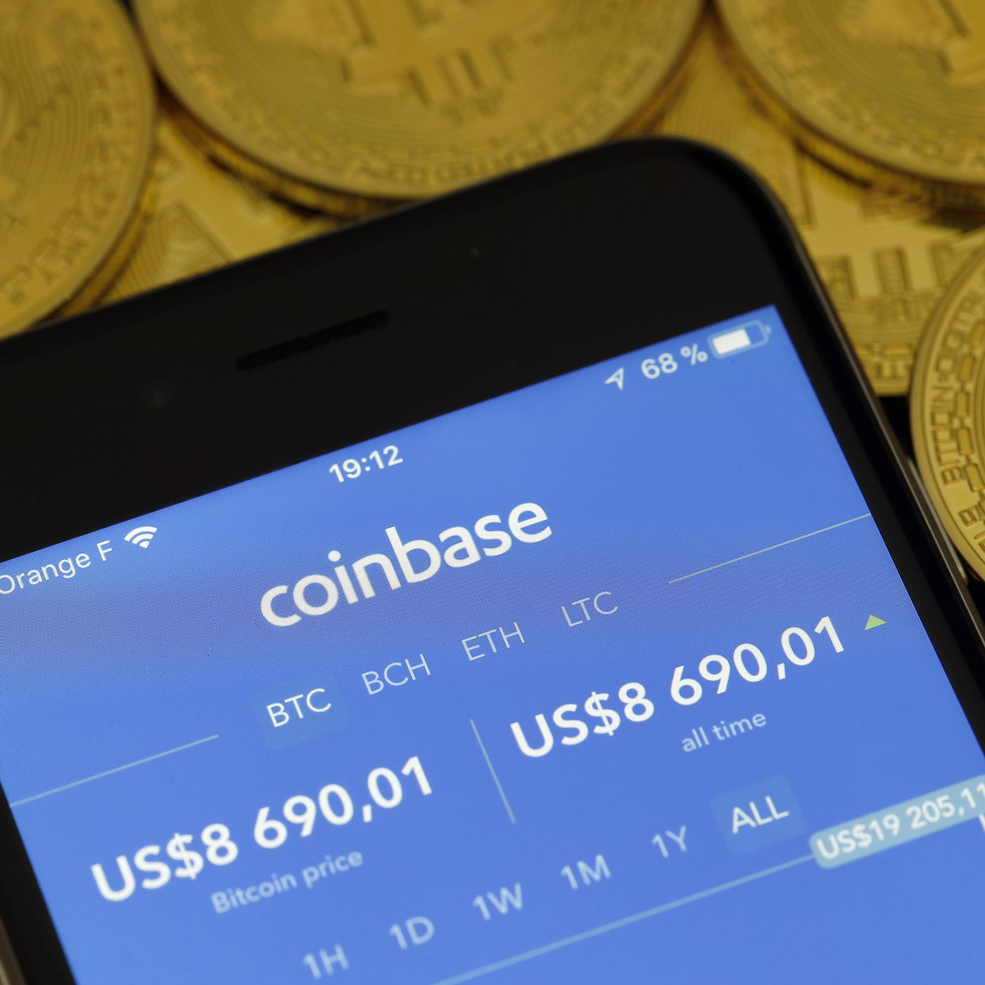 coinbase sell time