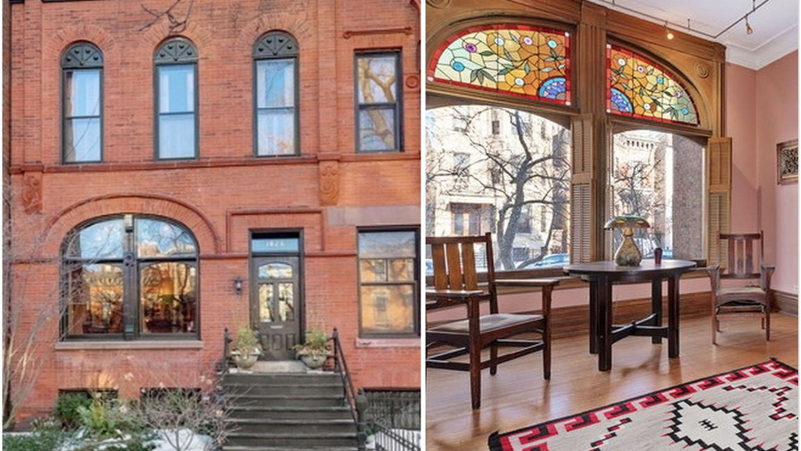 Louis Sullivan Designed Row Home In Lincoln Park Hits
