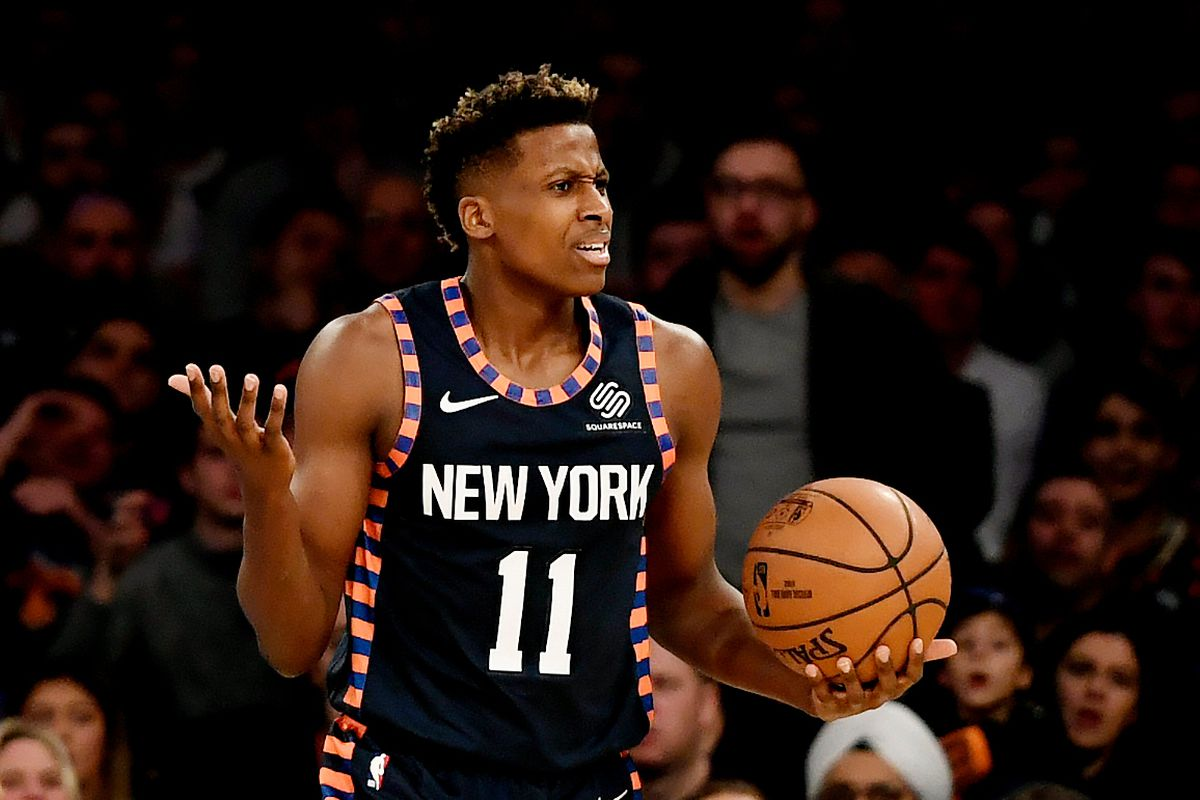 38cf96042e0 This Week In Knicks History  Frank Ntilikina takes on LeBron ...