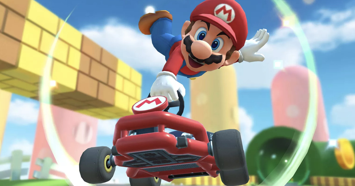 Almost a year later, Mario Kart Tour gets landscape mode