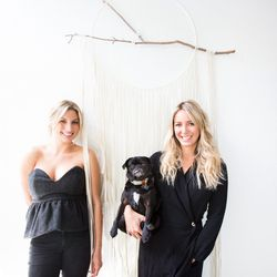 The duo behind Stone Cold Fox, Dallas Wand and Cydney Morris.