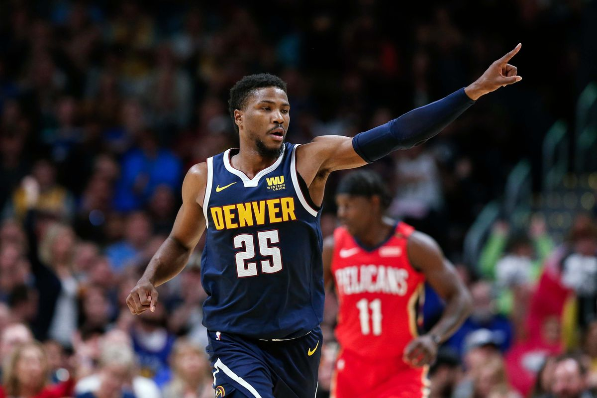 best service bfac8 79491 Malik Beasley deserves starting role - Denver Stiffs