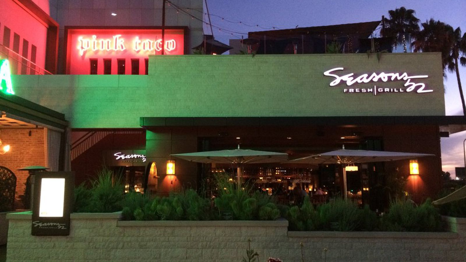 National Healthy Eating Chain Seasons 52 Shutters At