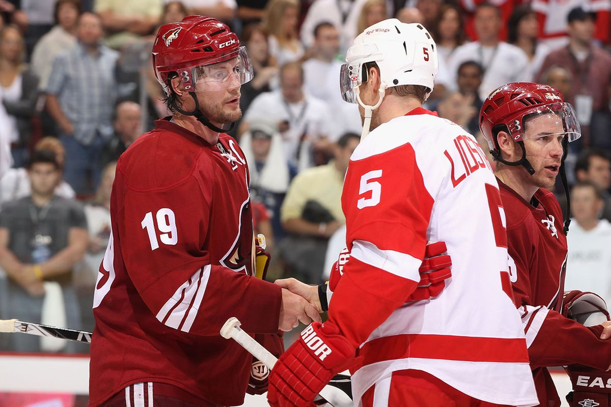Remember when this happened? Me either. Damn it's been a long time since the Wings played.
