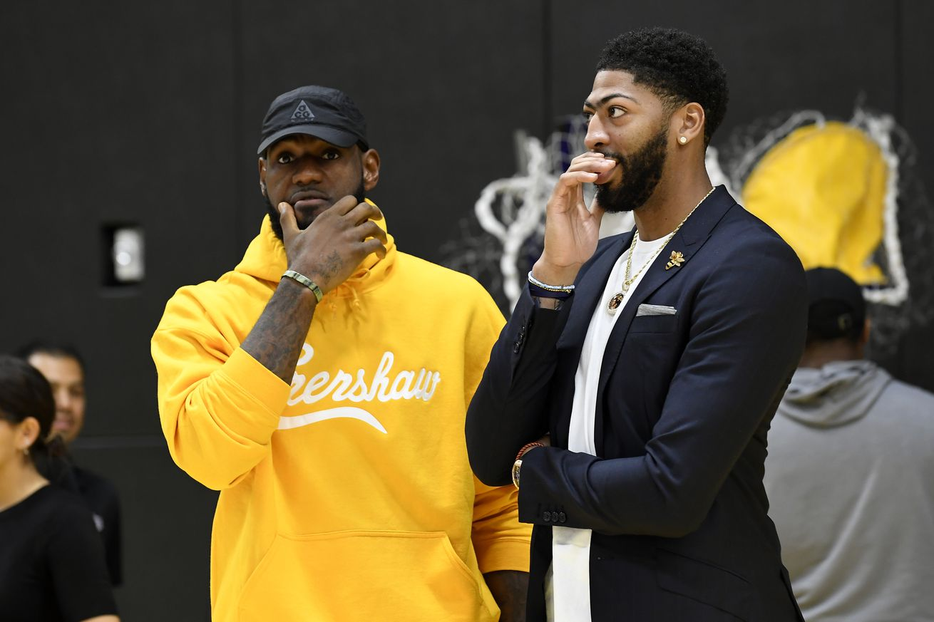 Here is everyone we know is going to training camp with the Lakers in 2019