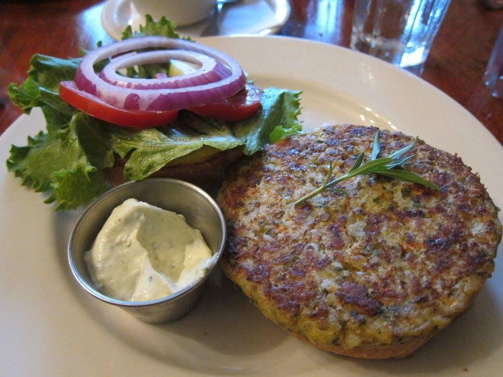 Eastside Cafe's garden burger