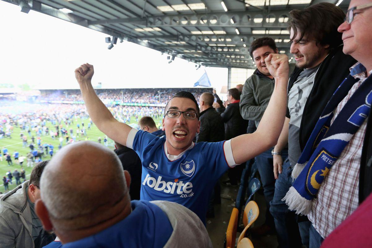Portsmouth v Cheltenham Town - Sky Bet League Two