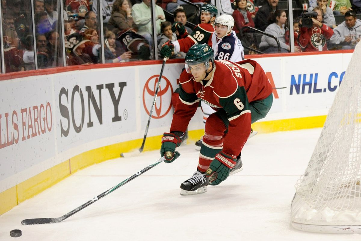 Nate Prosser will be looking back as Marco Scandella comes back. After that... what to do?