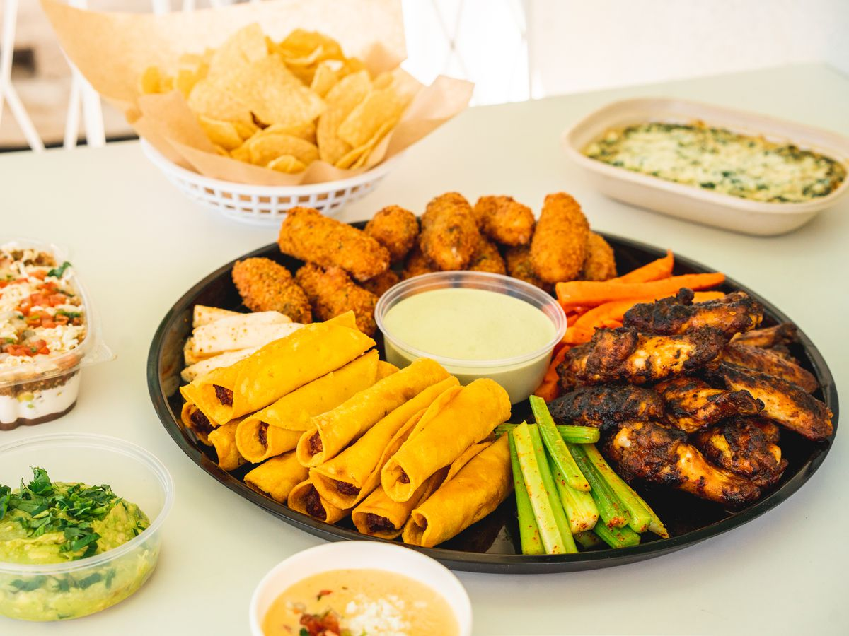 The Super Bowl package at Fresa's