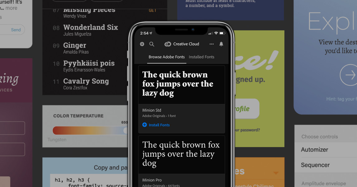 iPhones are getting thousands of new fonts from Adobe