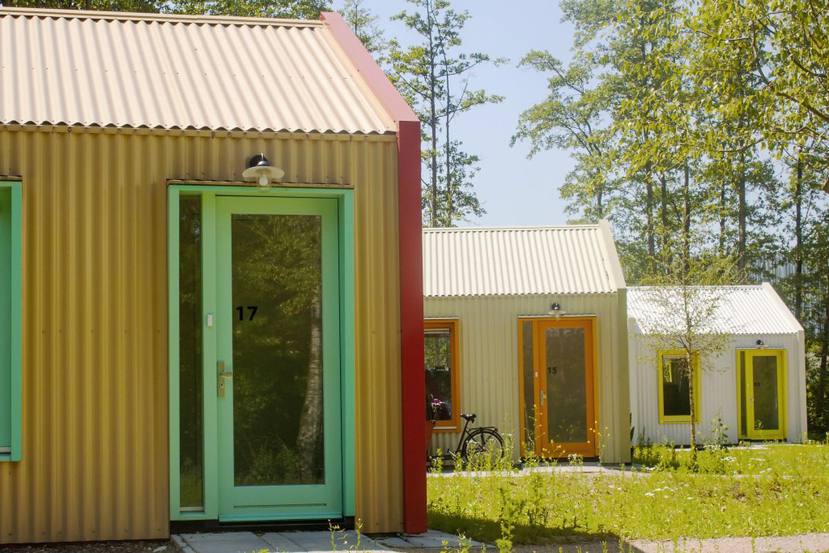 studio elmo vermijs designs tiny houses for the homeless in the