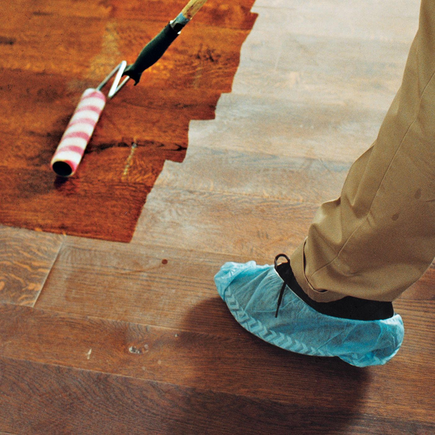 Hardwood Floor Refinishing Made Easy This Old House,Dog Licking Paws Red