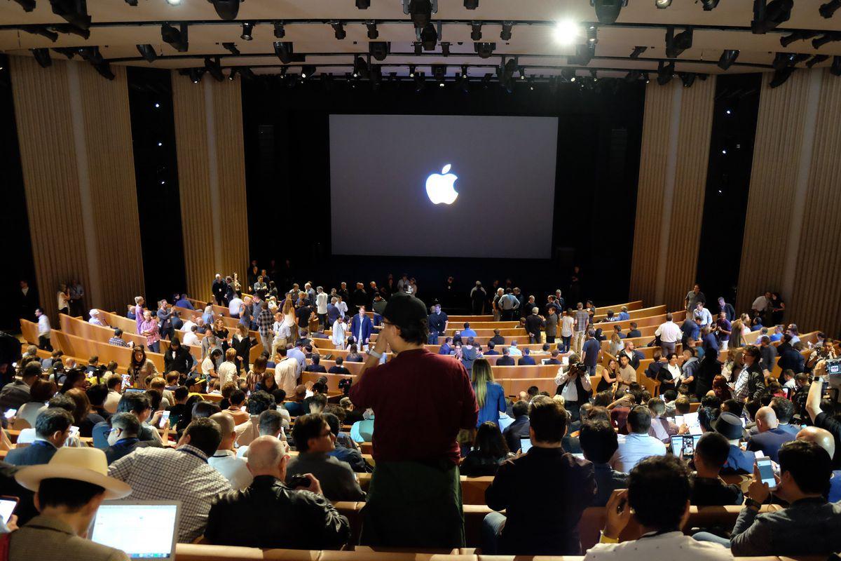 Steve Jobs Theater at Apple Park, iPhone X event, Sept. 12, 2017