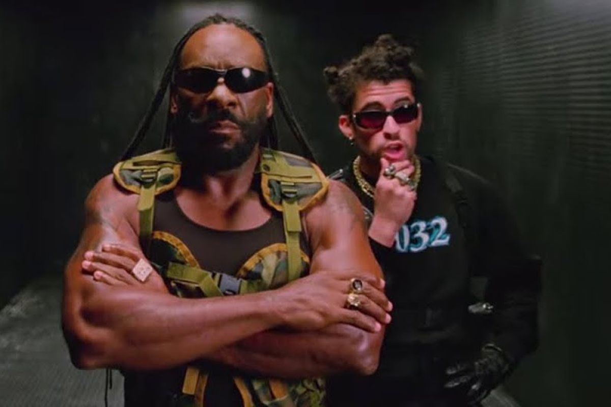 Booker T and Bad Bunny