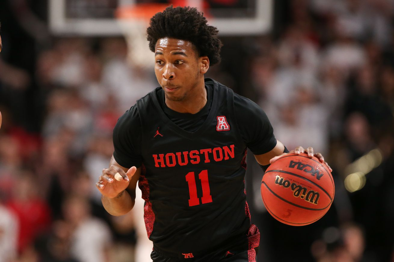 COLLEGE BASKETBALL: FEB 01 Houston at Cincinnati