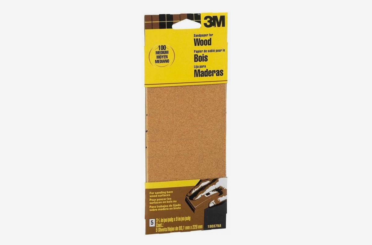 Piece of wood with yellow packaging.