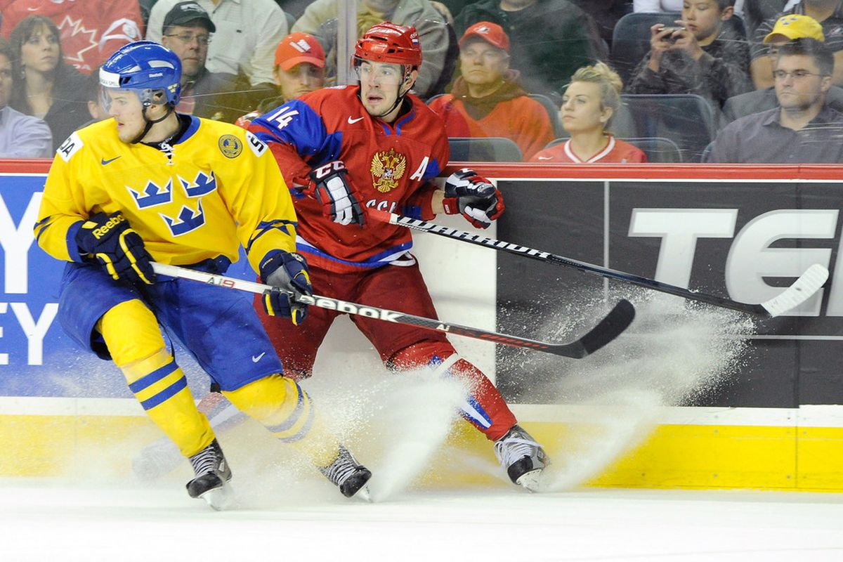 Klefbom last played competitive hockey in the 90s, it's believed.