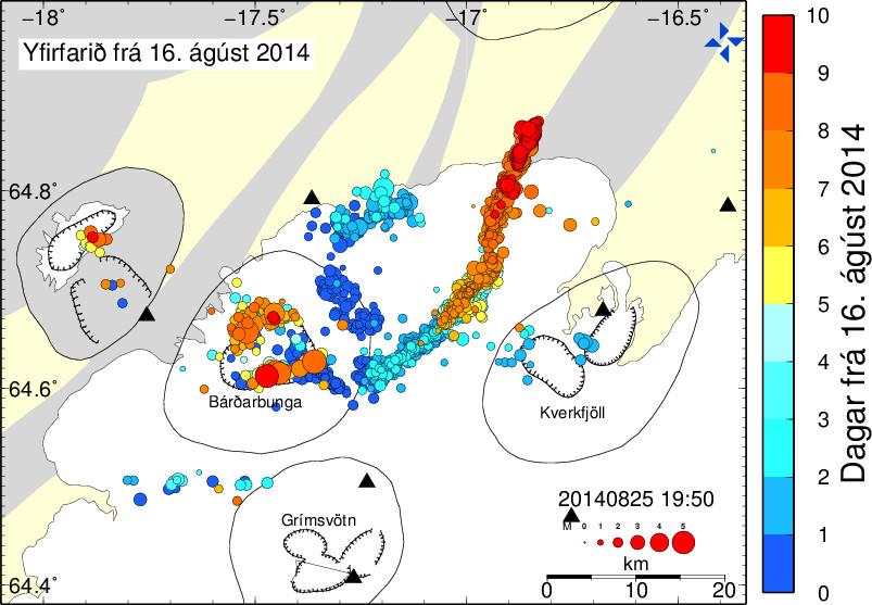 Bardabunga seismic activity
