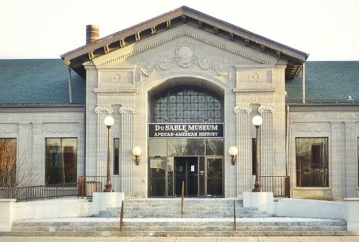 The DuSable Museum of African American History in Chicago's Hyde Park neighborhood.