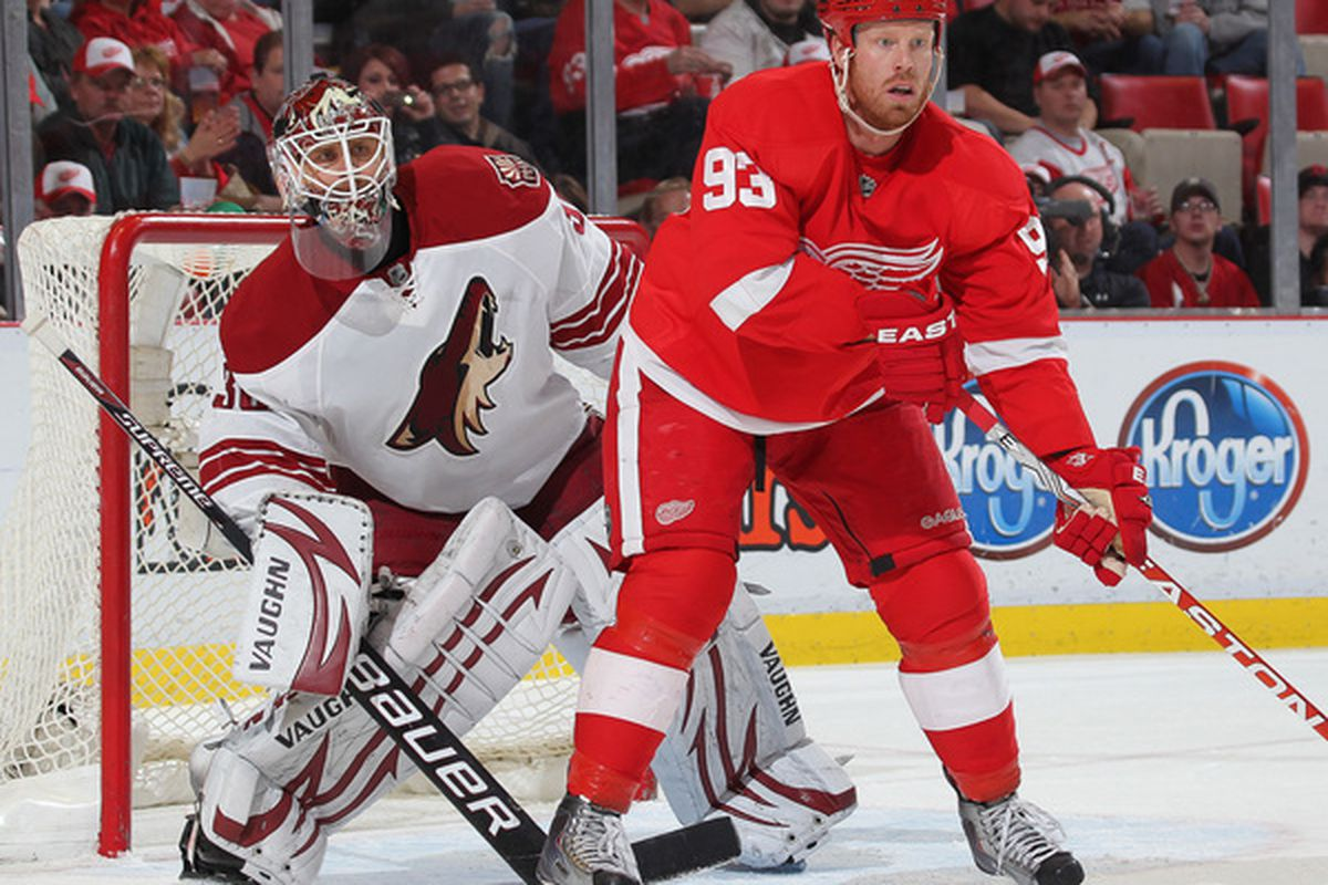This is the time of season that Johan Franzen likes to kick it into gear.