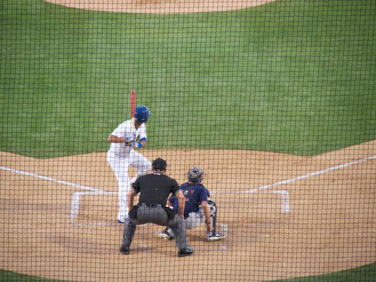 Ariel Sandoval at the plate