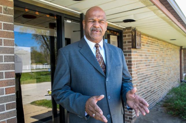 Hopkins Park Mayor Mark Hodge.   Tyler LaRiviere / Sun-Times