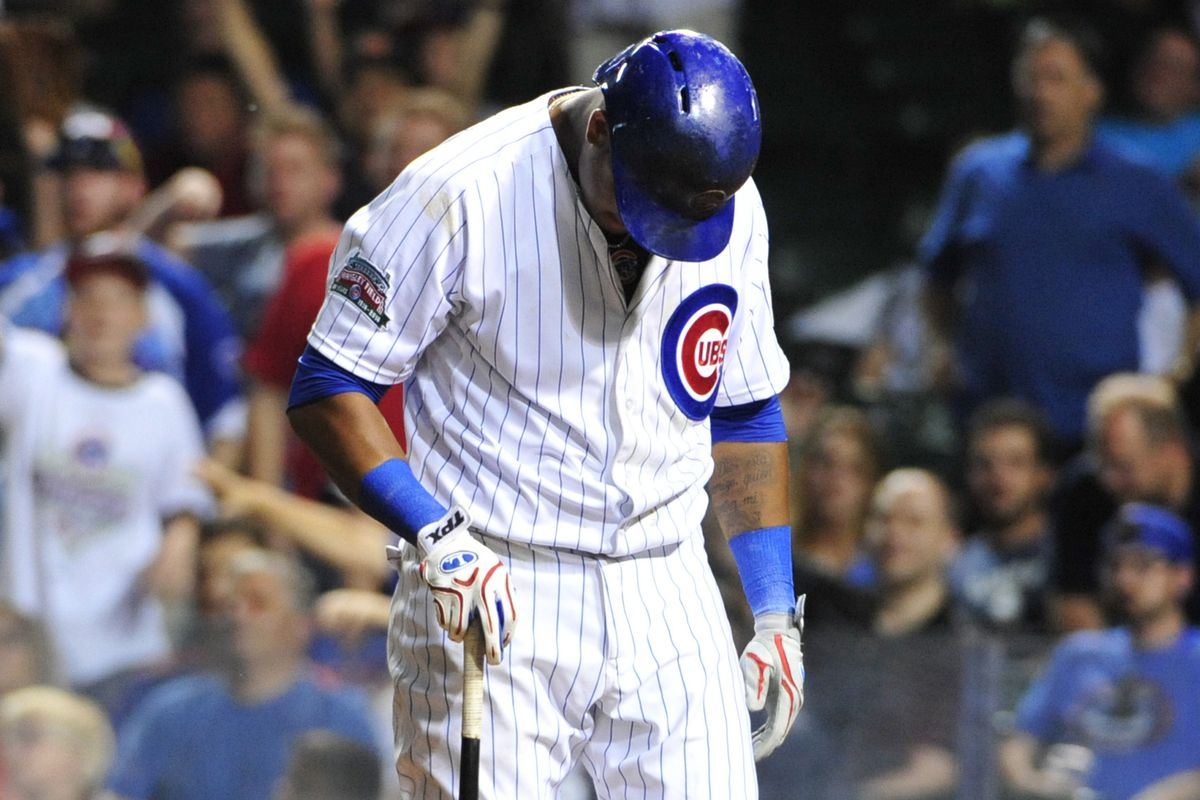 Don't feel too bad, Starlin. You found the correct podium this game.