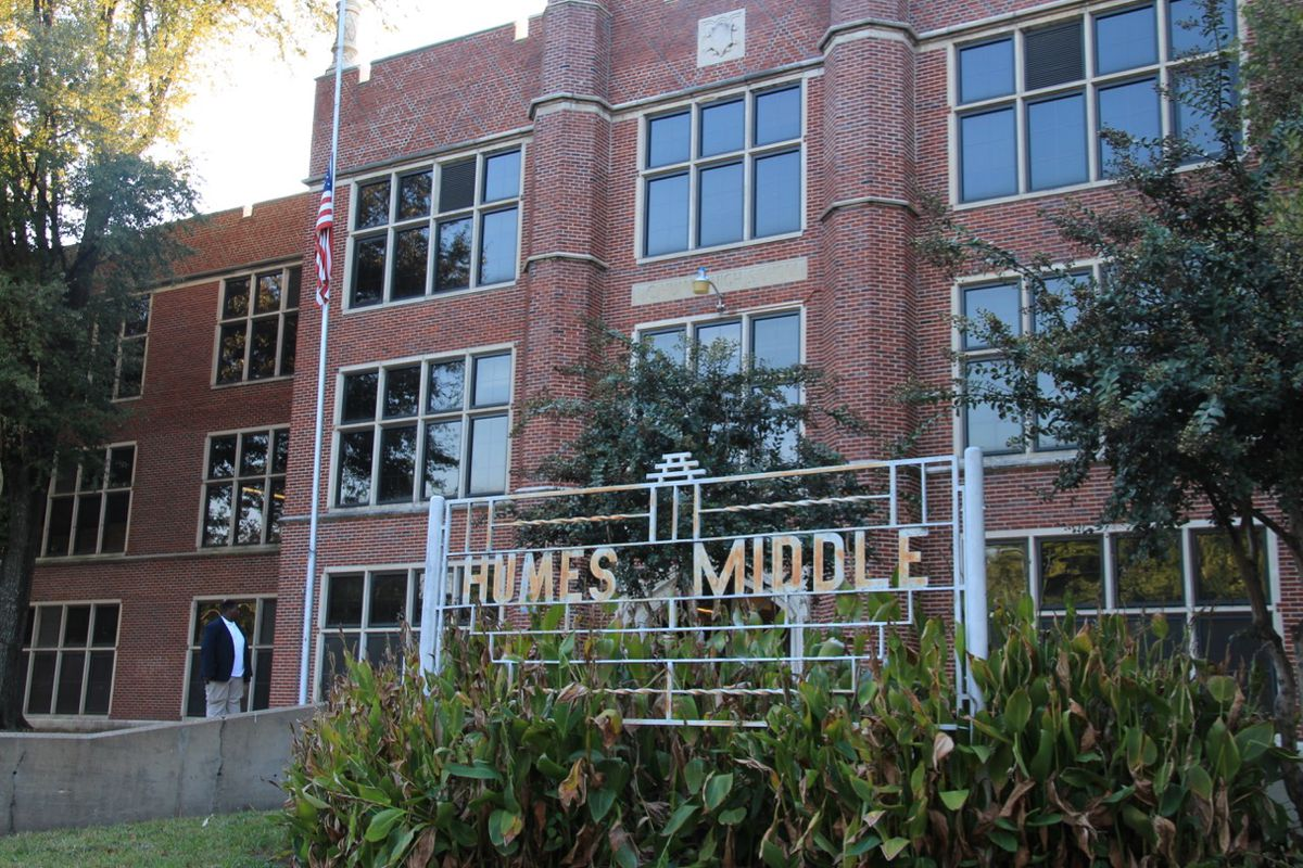 Humes Middle School is one of the original six schools taken over by the state of Tennessee in 2012.