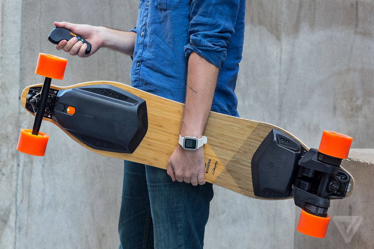 The new Boosted board makes a great ride even better - The Verge