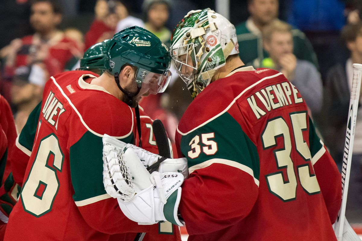 After a rough 2014-15 season, Kuemper may be playing his way back into the Wild's plans.