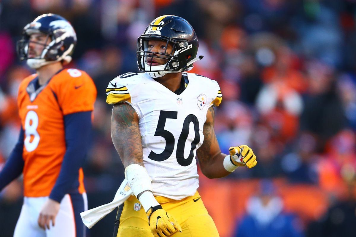 92bb315f6a7 Pittsburgh Steelers LB Ryan Shazier was once considered a first round