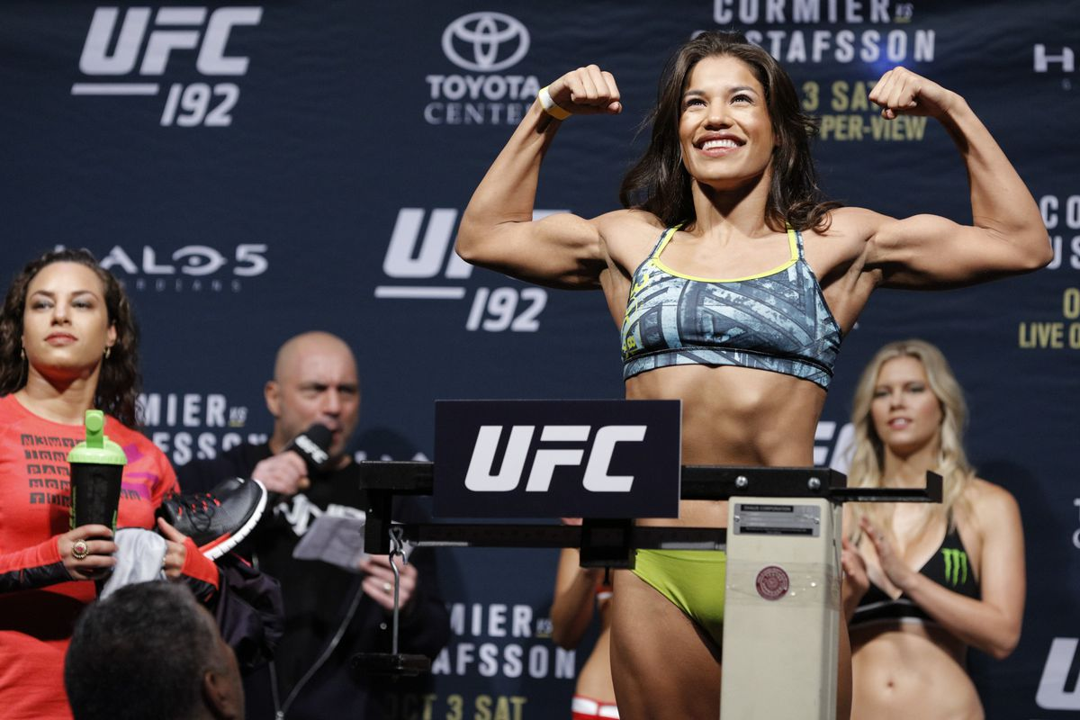 Julianna Pena will try to make weight at the UFC on FOX 23 weigh-ins Friday afternoon.