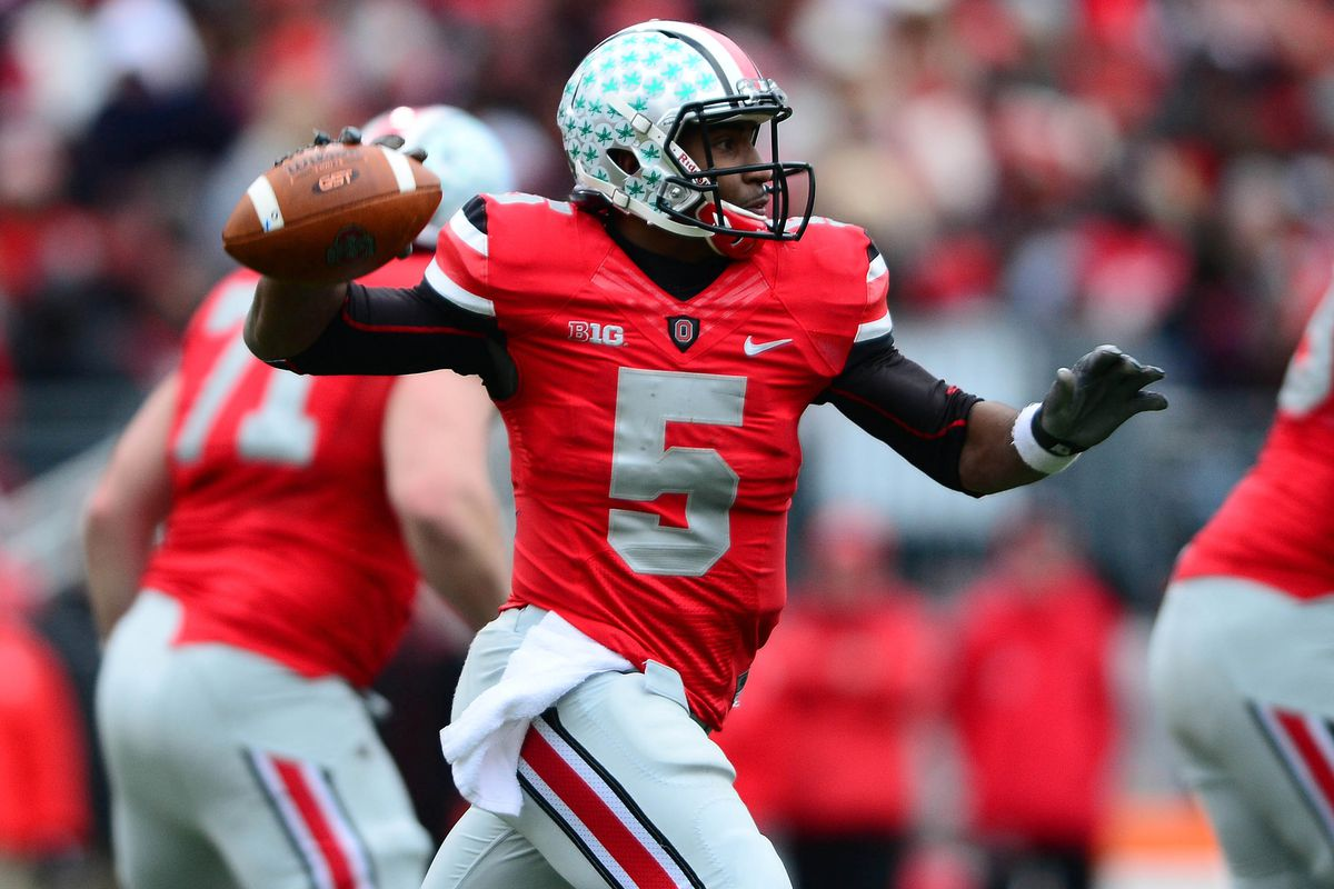 Braxton Miller was named the winner of the Griese-Brees QB.