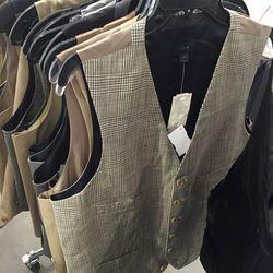 Suit vest, $60