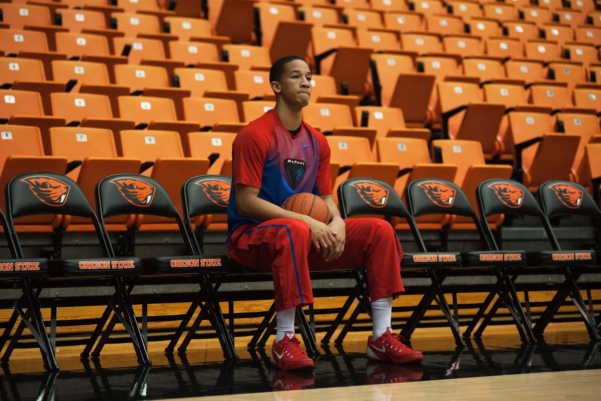 Billy Garrett sitting with all the other people who think DePaul is a contender for the league.