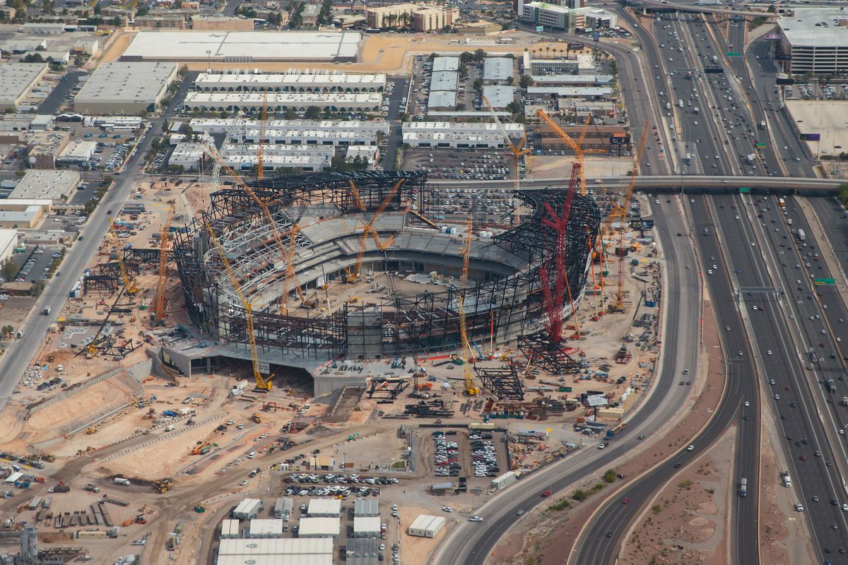 UFC could stage big events in new 65,000-seat Las Vegas Stadium