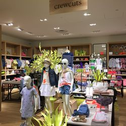 The Crewcuts section, in the back of the women's store.