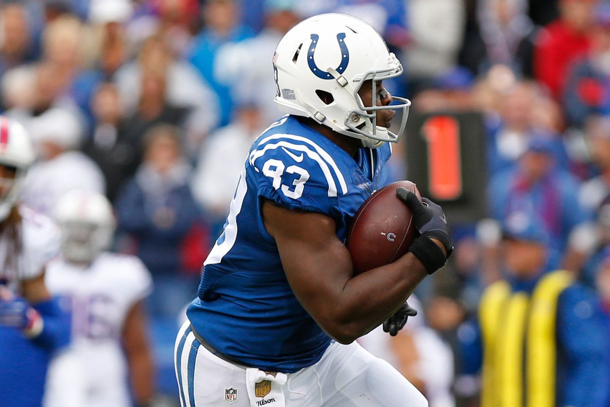 Dwayne Allen wants to re-sign with Colts; agent has had ...