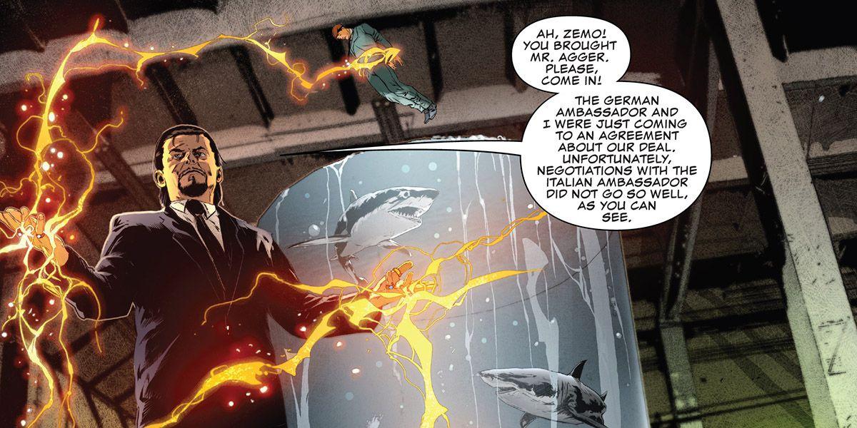 The Mandarin in The Punisher #1, Marvel Comics (2018).